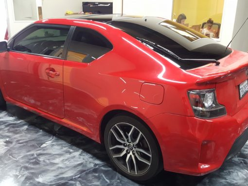 Window tint on a 2017 Scion TC