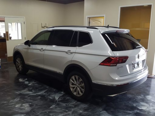 Window tint on a 2018 VW Tiguan
