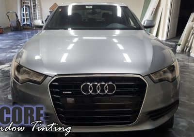 2014 Audi A6 Paint Protection Film (Clear Bra)