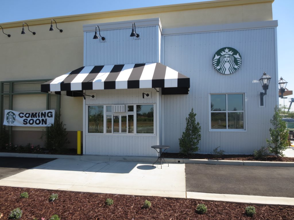 Starbucks drive thru tinting