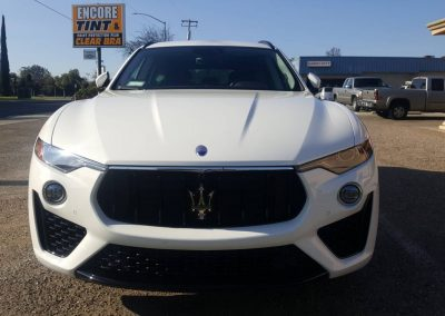 2019 Maserati Levante S with paint protection film installed