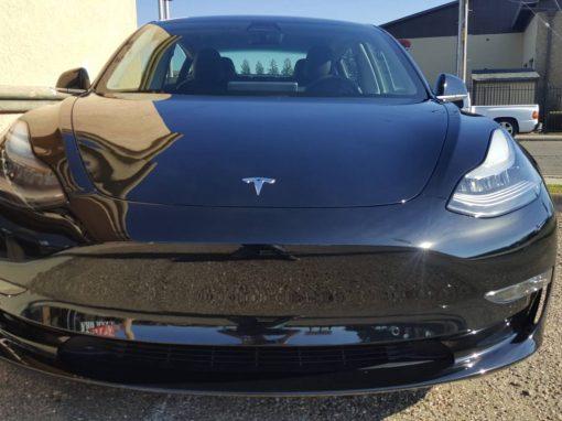 2019 Tesla Model 3 black