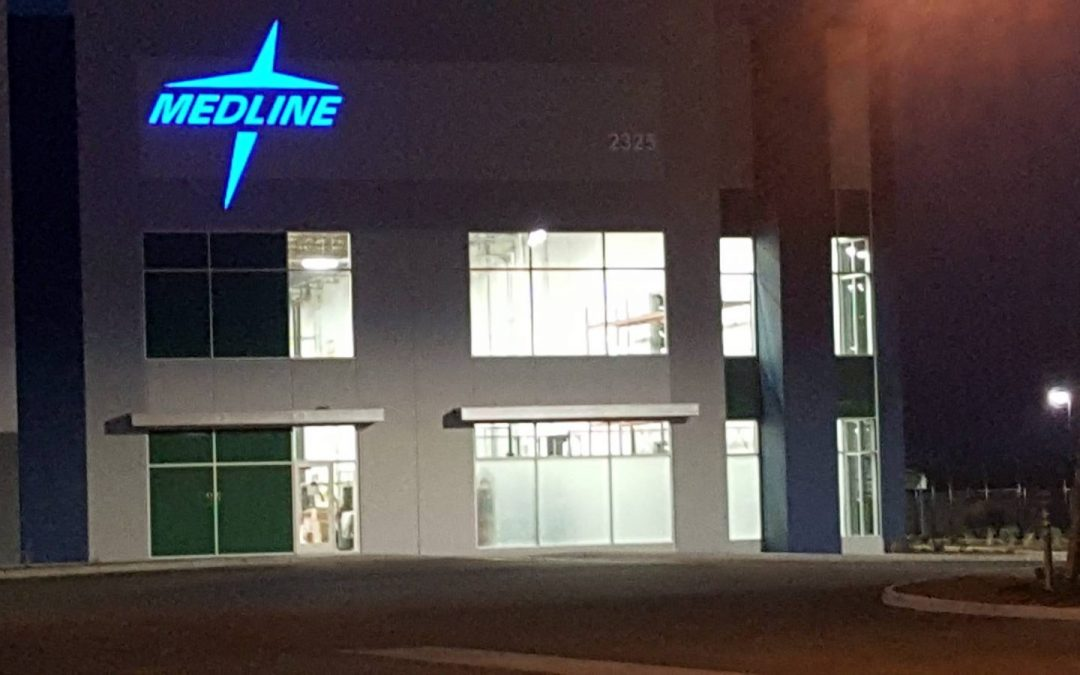 Window tinting at MedLine in Manteca CA