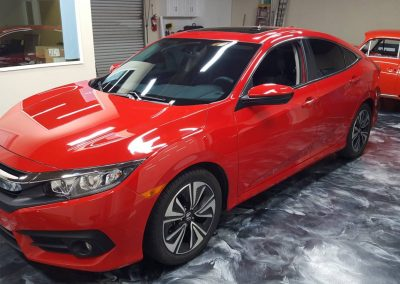 2017 Honda Civic Clear Bra and Window Tint