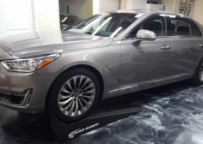 2018 Genesis G90 Paint Protection Film Clear Bra
