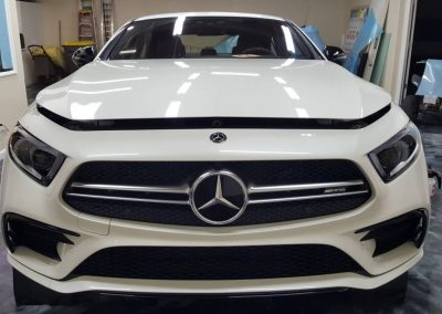2019 MB CLS 53 AMG Full hood and window tint 1