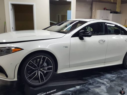2019 MB CLS 53 AMG Full hood and window tint
