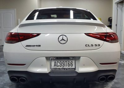 2019 MB CLS 53 AMG Full hood and window tint 3