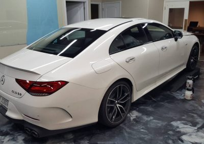 2019 MB CLS 53 AMG Full hood and window tint 4