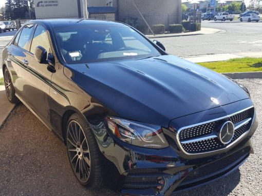 2019 Mercedes-Benz E 53 AMG Paint Protection Film