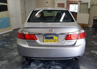2013 Honda Accord retint Encore window tinting 5