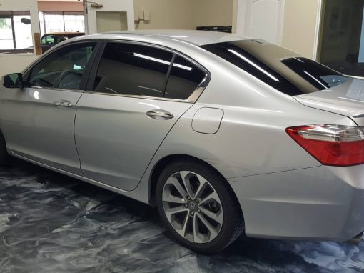 2013 Honda Accord retint Encore window tinting
