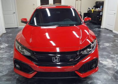 2019 Honda Civic Si Clear Window tint 12
