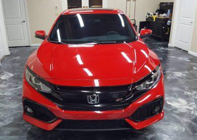 2019 Honda Civic Si Clear Window tint 12