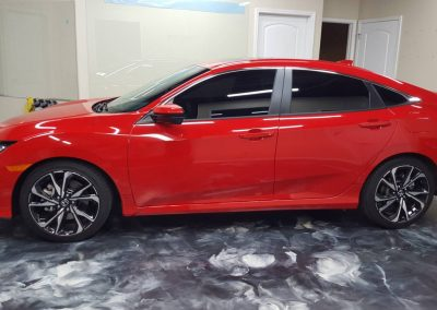 2019 Honda Civic Si Clear Window tint 15
