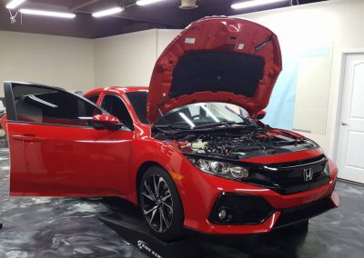 2019 Honda Civic Si Clear Window tint 4