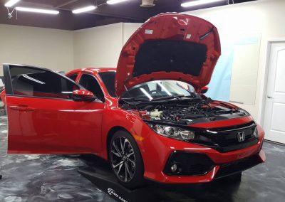 2019 Honda Civic Si Clear Window tint 4