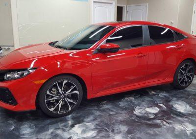 2019 Honda Civic Si Clear Window tint 5
