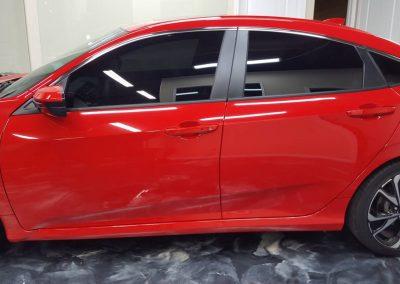 2019 Honda Civic Si Clear Window tint 6