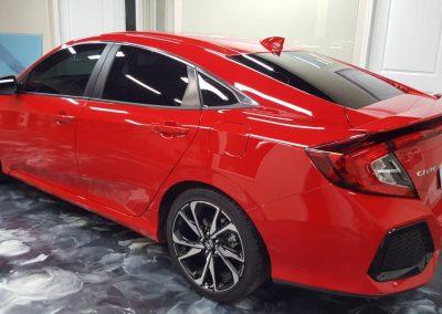 2019 Honda Civic Si Clear Window tint 7