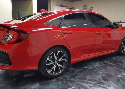 2019 Honda Civic Si Clear Window tint 9