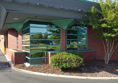 Uncle Credit Union in Livermore commercial window tinting 1