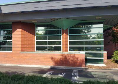 Uncle Credit Union in Livermore commercial window tinting 2