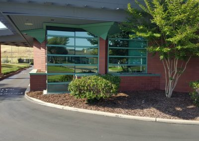 Uncle Credit Union in Livermore commercial window tinting 3