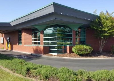 Uncle Credit Union in Livermore commercial window tinting