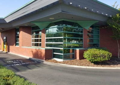 Uncle Credit Union in Livermore commercial window tinting 5