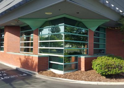 Uncle Credit Union in Livermore commercial window tinting 6