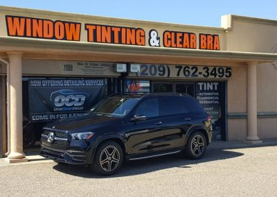 2020 Mercedes-Benz GLE350 Paint Protection Film Clear Bra