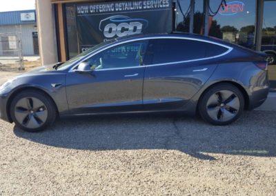 2019 Tesla model 3 Gray 2