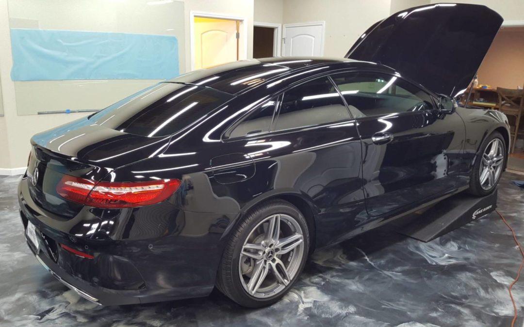 2018 Mercedes-Benz E400 Paint Protection Film Clear Bra